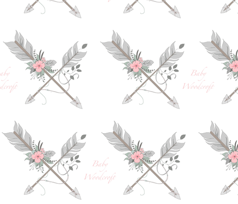 Custom baby woodcroft fabric by sugarpinedesign on Spoonflower - custom fabric