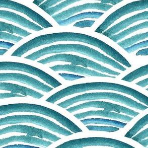 Sea waves big