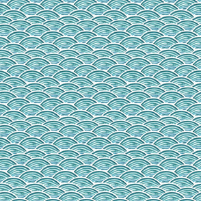 Sea waves small