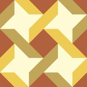 Bayeux Ribbon Star 8