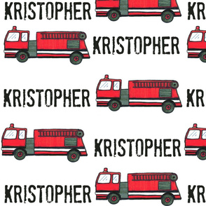 Kristopher-Fire Truck