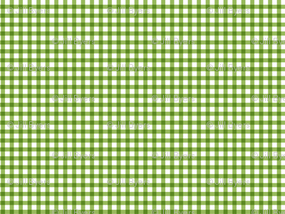 Picnic Gingham - Greenery
