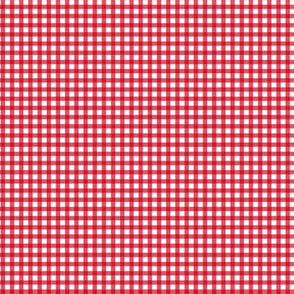 Picnic Gingham - Red