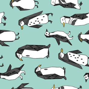 penguin fabric // penguins fabric andrea lauren design andrea lauren fabric