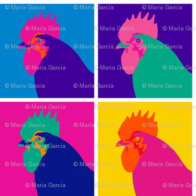 Pop Art Chicken - Small
