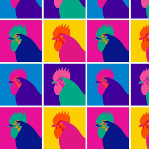 Pop Art Chicken - Small
