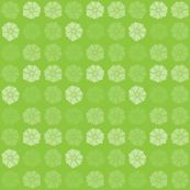 Flat Flowers Lime