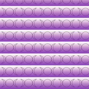 Triple Goddess in Purple Gradient