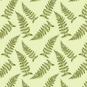 vintage_ferns_green