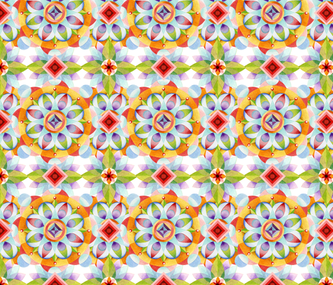 Beaux Arts Kaleidoscope fabric by patriciasheadesigns on Spoonflower - custom fabric