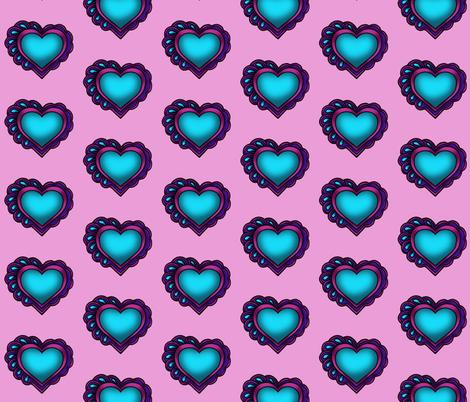Pastel Heart fabric by rlfedun on Spoonflower - custom fabric