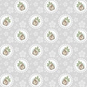 Wind Flower Mouse Grey
