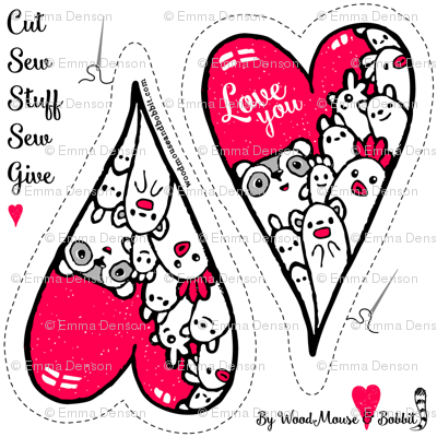 Cut Out & Give Heart  2