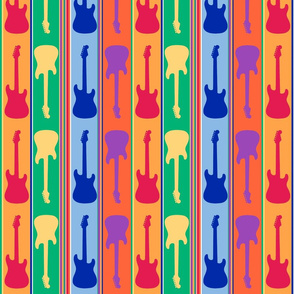 Rainbow Rock Guitars