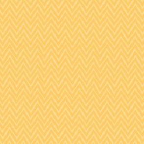 Quirky Yellow Chevron