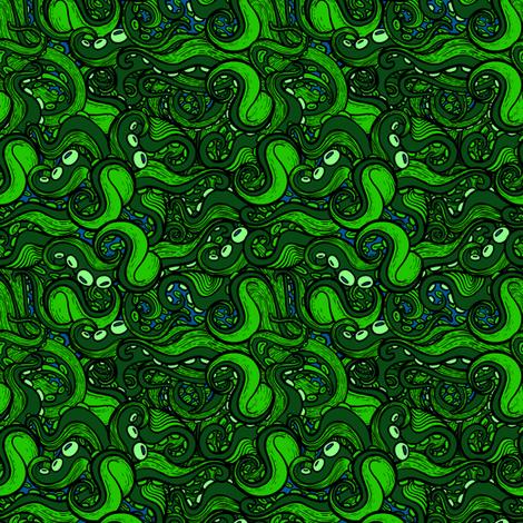 Teeny Tentacles 3 fabric by jadegordon on Spoonflower - custom fabric