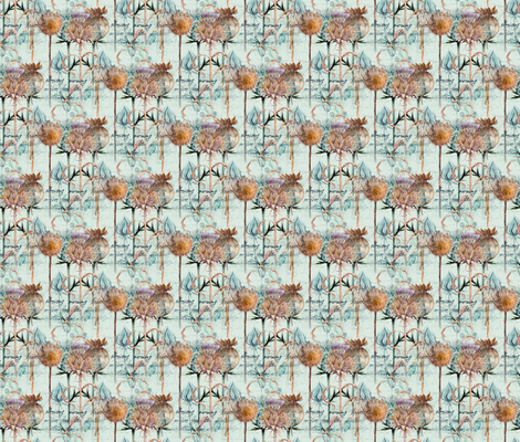 Glorious Morning (Small) fabric by floramoon on Spoonflower - custom fabric