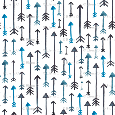 Watercolour Arrows