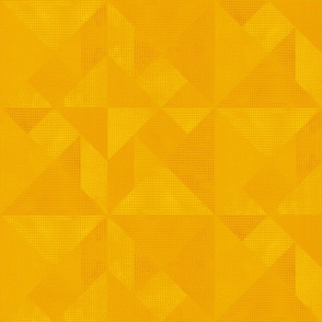 Golden Yellow Tangram Texture