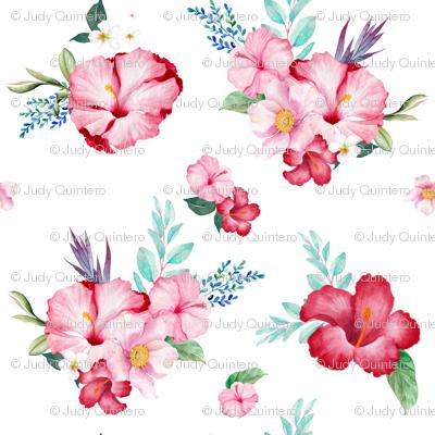 "9"" Surfer Girl Florals / Extra Florals"