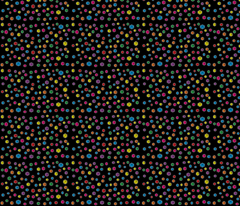 MultiColored Hexi fabric by amyscrapspot on Spoonflower - custom fabric