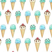 Mint_ice_cream_cones_2inch_150_hazel_fisher_creations_shop_thumb