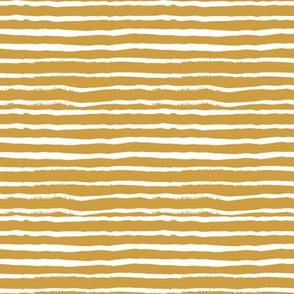 mustard stripes fabric