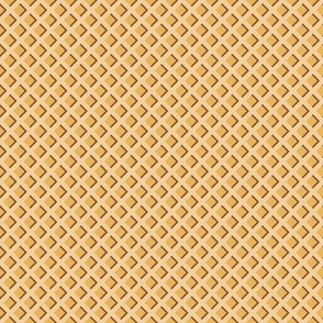 "1/2"" Ice Cream Waffle Cone"