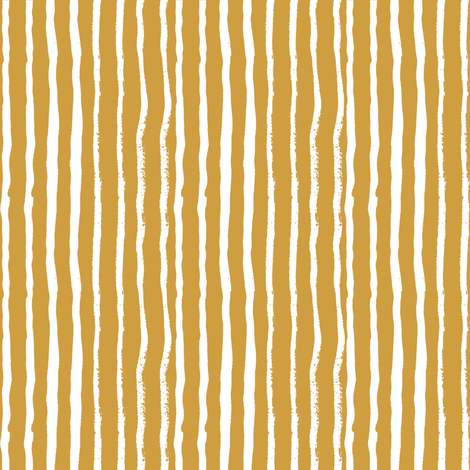 mustard stripes fabric stripe fabric fabric by charlottewinter on Spoonflower - custom fabric