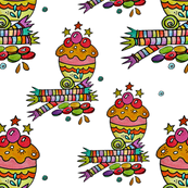 Candies_cupcake_fabric