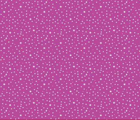 ExtrafabricPrincess1-purplestar fabric by quilterkimie on Spoonflower - custom fabric