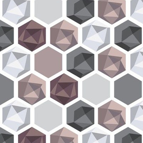 Silver-Pink-Hexagon-Gems