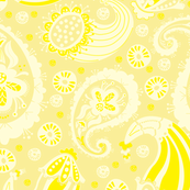 Paisley-Yellow