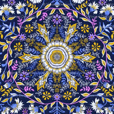 Flower Mandala Big