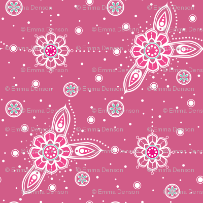Pink Mandala Accents