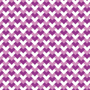 Purple Heart Herringbone