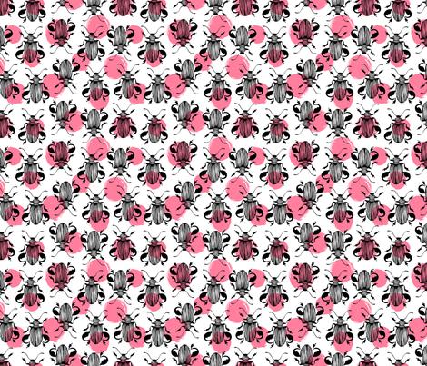 Exotic beetles fabric by skorobogatova on Spoonflower - custom fabric