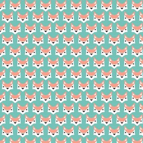 Geometric fox illustration gender neutral xs
