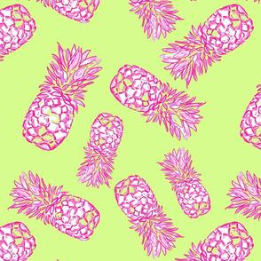 Pineapple dance in mint