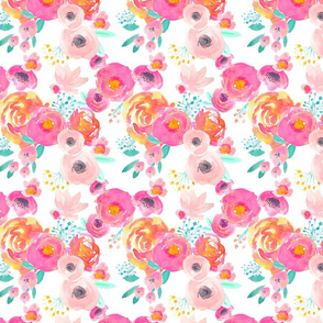 INDY BLOOM BLUSH Florals White_C