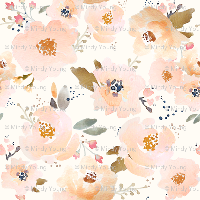 Indy Bloom Peachy Blossoms C