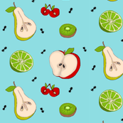 Fruit & Ants Picnic Dance -med