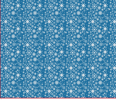 bluesnowflake fabric by quilterkimie on Spoonflower - custom fabric