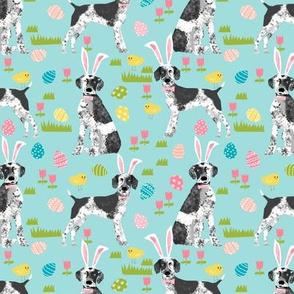 Custom german shorthair mix dog breed Easter dog fabric