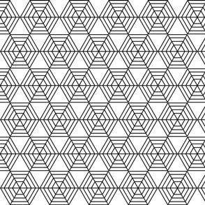 Hexagonal Cobwebs Initial Design
