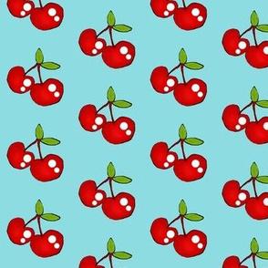 Fruit & Ants Picnic Dance -Cherries