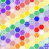 Rrrainbow_diagonal_hexagon_modern_cheater_quilt_shop_thumb