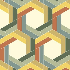 Braided Bayeux Hexagons