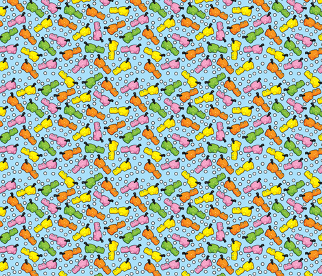 hungry more fabric by thickblackoutline on Spoonflower - custom fabric