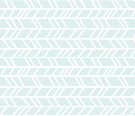 Rotated crazy herringbone - light grey/white-ch-ch-ch fabric by sugarpinedesign on Spoonflower - custom fabric